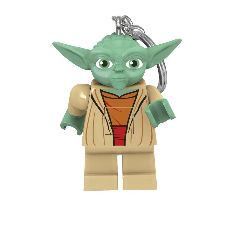 Photo du produit LEGO STAR WARS PORTE-CLÉS LUMINEUX YODA 6 CM