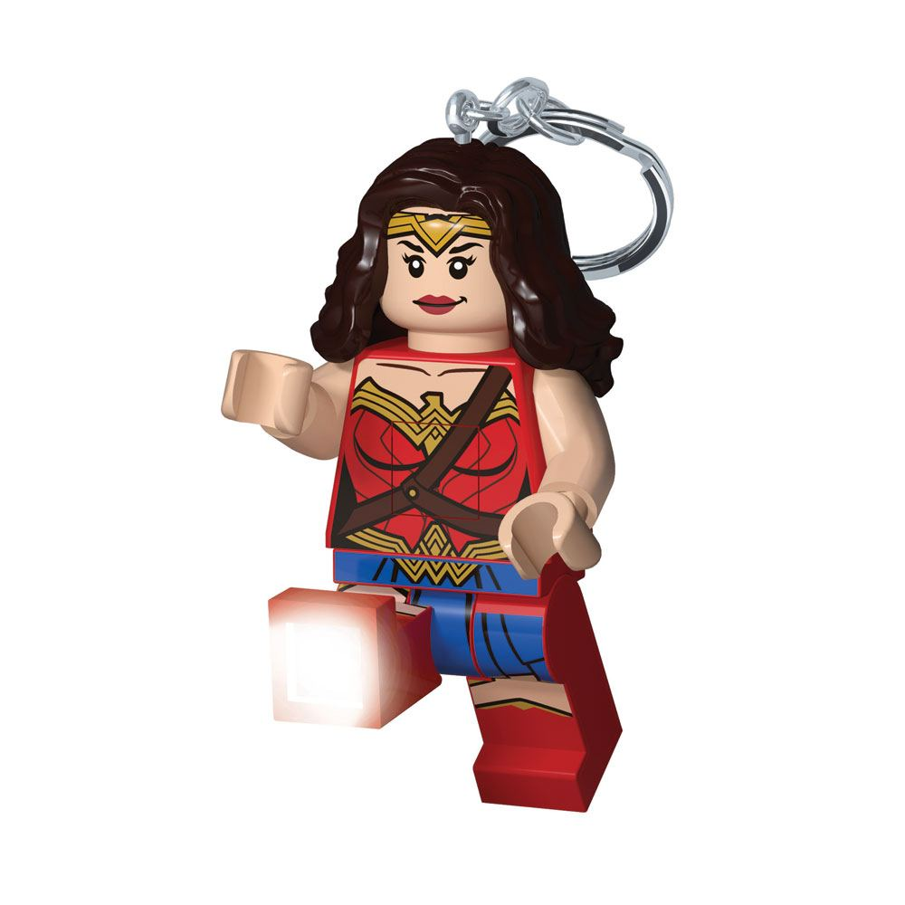 Photo du produit LEGO SUPER HEROES PORTE-CLÉS LUMINEUX WONDER WOMAN 6 CM