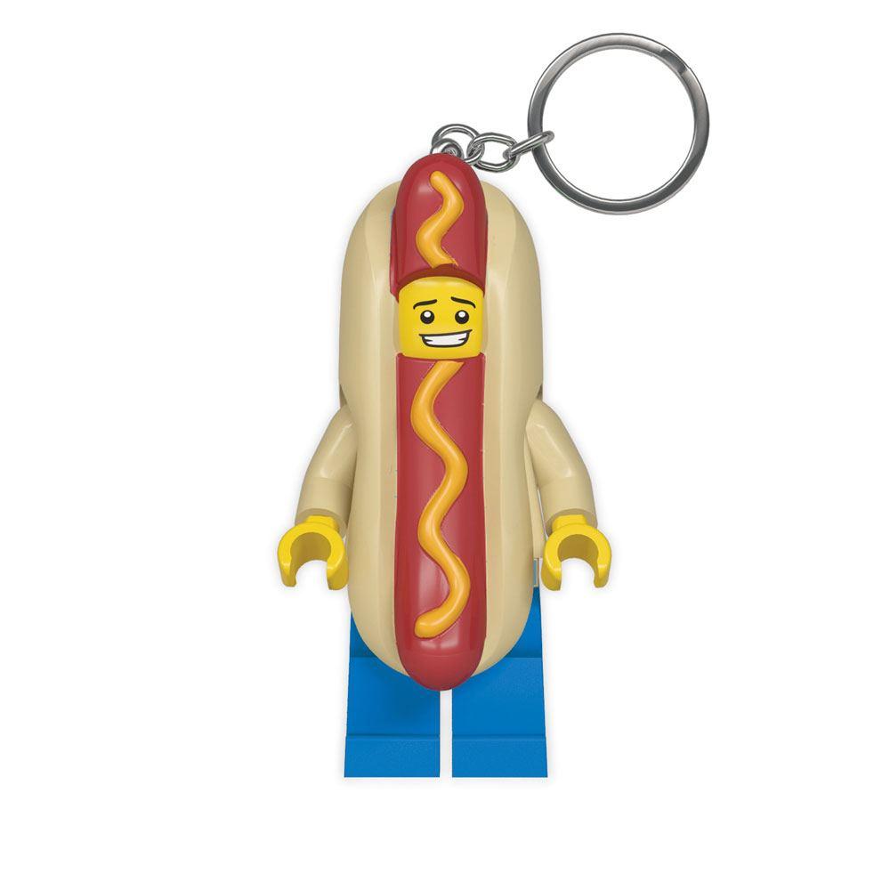 Photo du produit LEGO CLASSIC PORTE-CLÉS LUMINEUX HOT DOG 8 CM