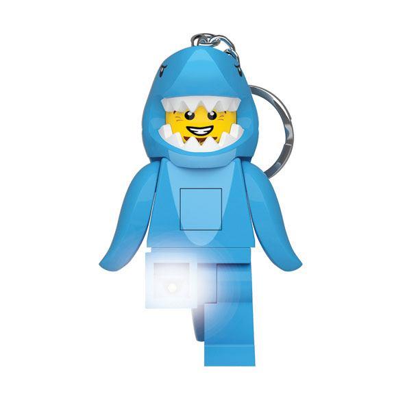 Photo du produit LEGO Classic porte-clés lumineux Requin 8 cm
