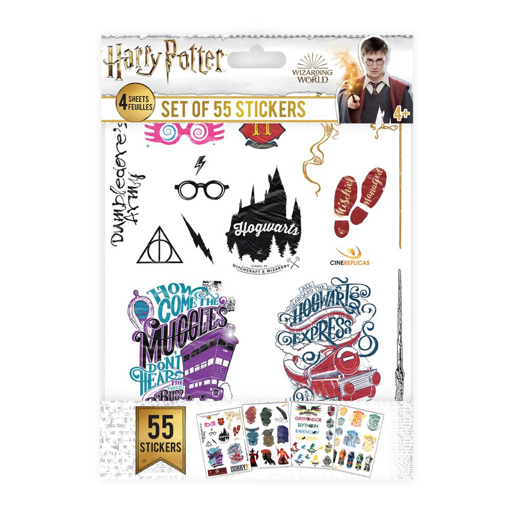 Photo du produit HARRY POTTER SET AUTOCOLLANTS SYMBOLS