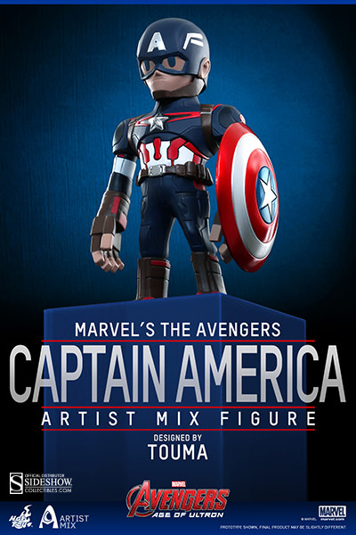 Photo du produit HOT TOYS FIGURINE ARTIST MIX CAPTAIN AMERICA AVENGERS AGE OF ULTRON