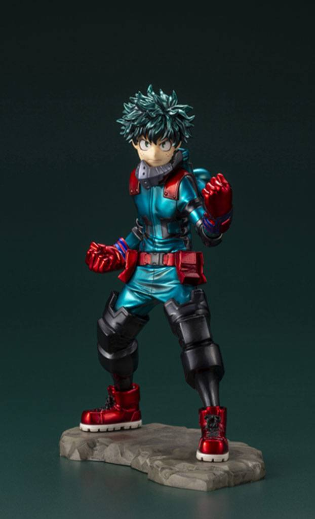 Photo du produit MY HERO ACADEMIA STATUETTE PVC ARTFXJ 1/8 IZUKU MIDORIYA HERO FES. LIMITED EDITION 21 CM
