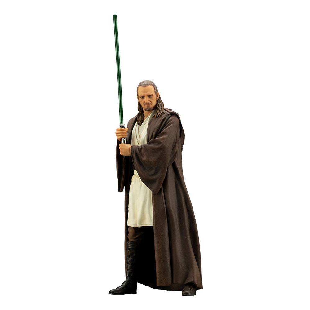 Photo du produit STAR WARS EPISODE I STATUETTE PVC ARTFX+ 1/10 QUI-GON JINN 19 CM
