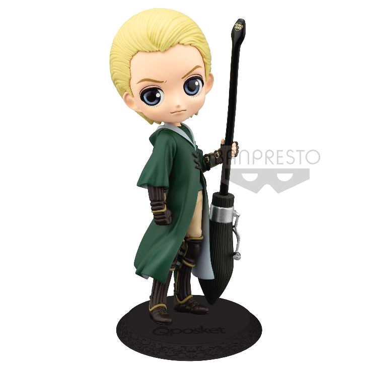 Photo du produit HARRY POTTER FIGURINE Q POSKET DRACO MALFOY QUIDDITCH STYLE VERSION A 14 CM