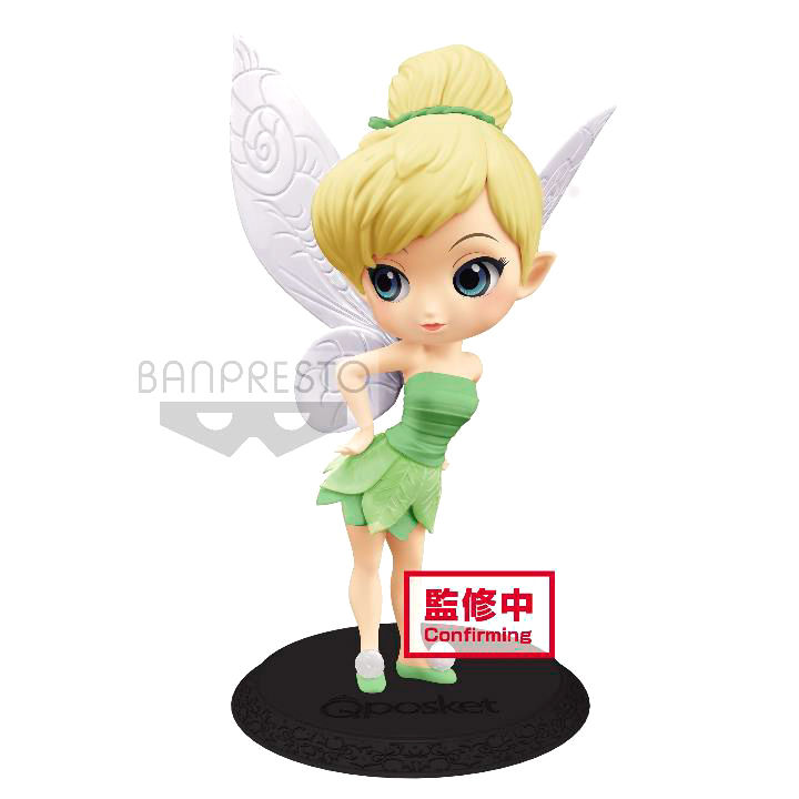 Photo du produit DISNEY FIGURINE Q POSKET TINKER BELL LEAF DRESS VER. B 14 CM