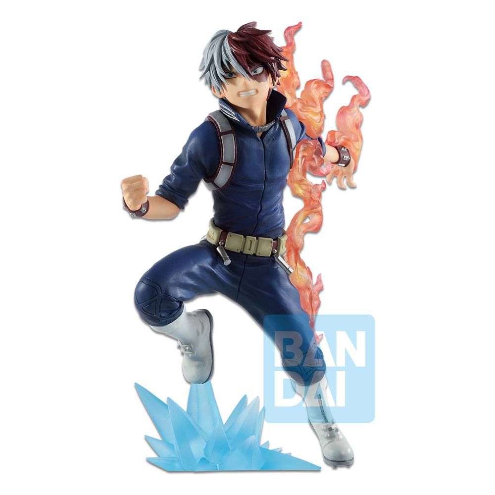 Photo du produit MY HERO ACADEMIA STATUETTE BANDAI PVC ICHIBANSHO SHOTO TODOROKI (GO AND GO!) 18 CM