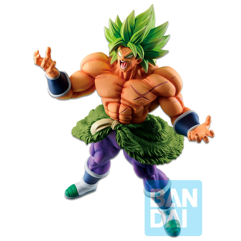 Photo du produit FIGURINE BANPRESTO ICHIBANSHO SUPER SAIYAN BROLY VS OMNIBUS Z DRAGON BALL 20/16CM