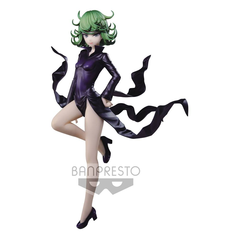 Photo du produit ONE PUNCH MAN STATUETTE PVC ESPRESTO SHAPELY TATSUMAKI TERRIBLE TORNADO 20 CM