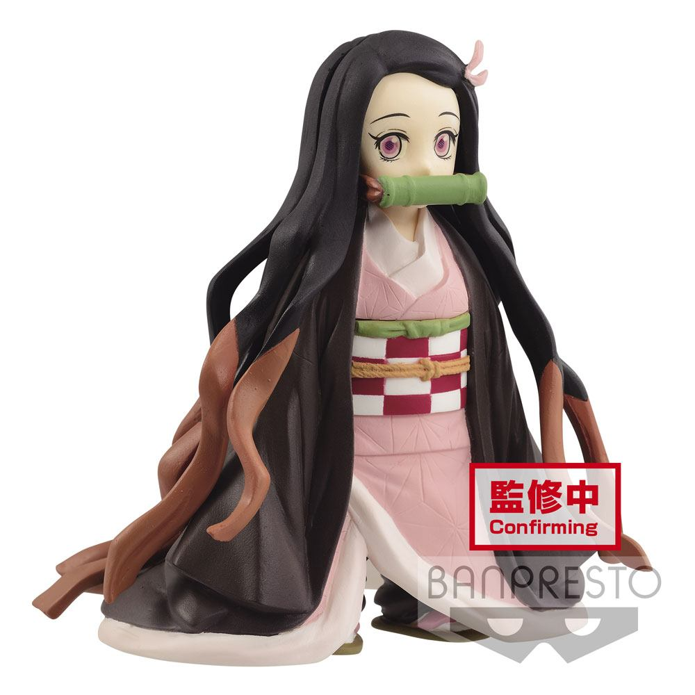 Photo du produit DEMON SLAYER KIMETSU NO YAIBA STATUETTE PVC NEZUKO KAMADO 10 CM