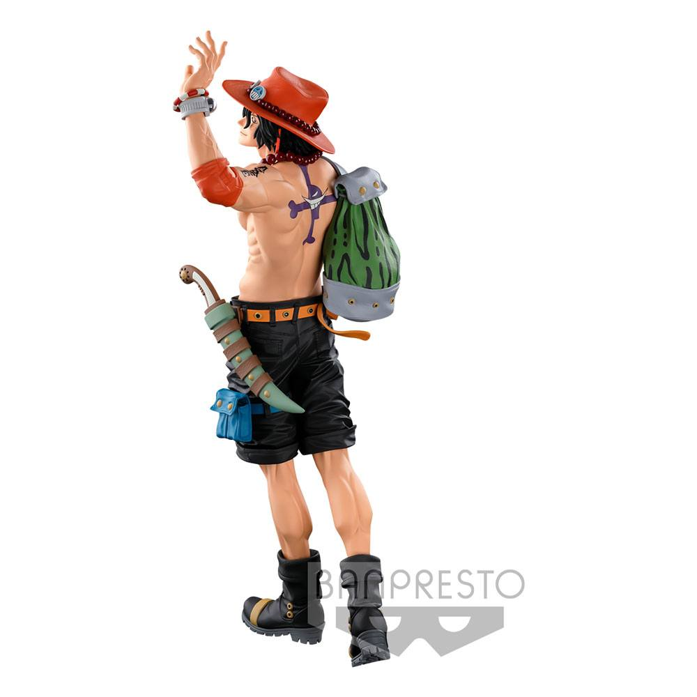 Photo du produit FIGURINE SUPER MASTER STARS PIECE THE PORTGAS D. ACE THE ORIGINAL ONE PIECE BANPRESTO WORLD FIGURE COLOSSEUM 3