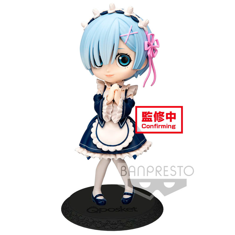 Photo du produit RE: ZERO STARTING LIFE IN ANOTHER WORLD FIGURINE Q POSKET REM VER. B 14 CM