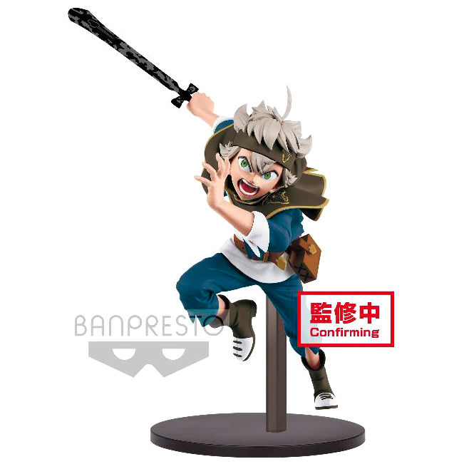 Photo du produit FIGURINE BANPRESTO ASTA BLACK CLOVER ESTATUA DXF A 13CM