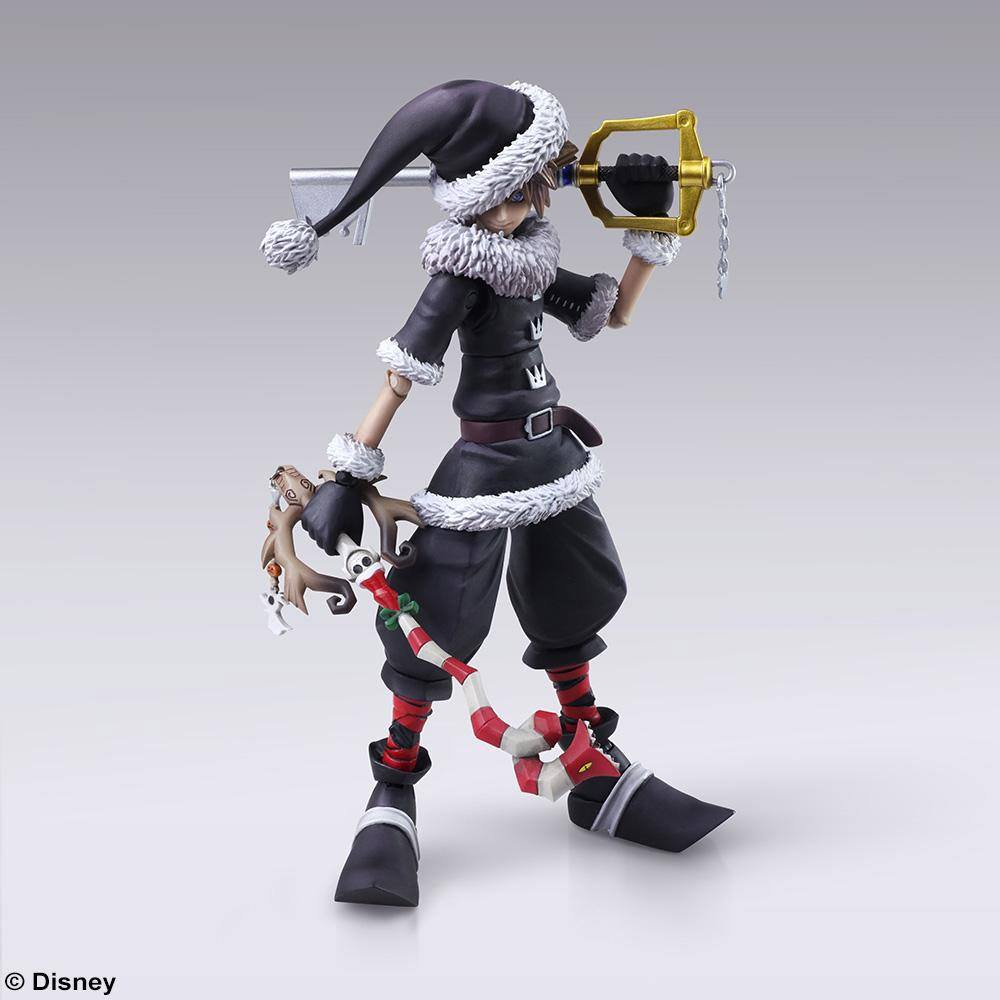 Photo du produit KINGDOM HEARTS II BRING ARTS FIGURINE SORA CHRISTMAS TOWN VER. 15 CM