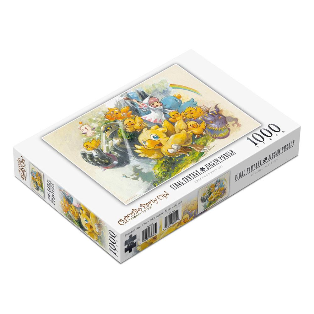 Photo du produit Final Fantasy puzzle Chocobo Party Up! (1000 pièces)