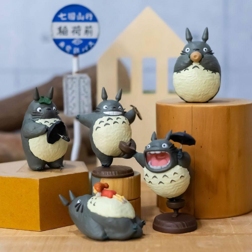 Photo du produit Mon voisin Totoro assortiment 6 figurines Totoro 2 5 cm