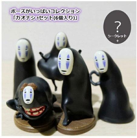 Photo du produit Le Voyage de Chihiro assortiment 6 figurines No-Face 5 - 8 cm