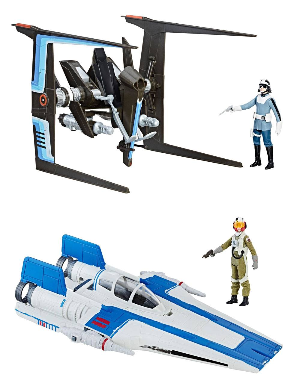 Photo du produit STAR WARS EPISODE VIII FORCE LINK ASSORTIMENT VÉHICULES AVEC FIGURINES 2017 CLASS B WAVE 1