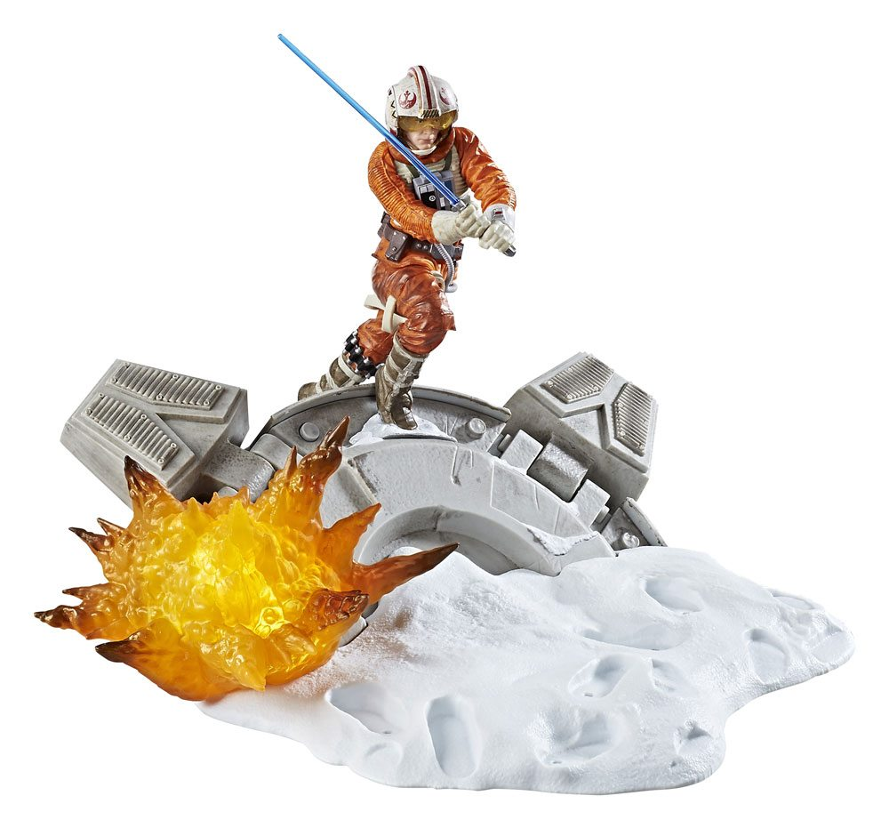 Photo du produit STAR WARS BLACK SERIES CENTERPIECE 2017 DIORAMA LUKE SKYWALKER 15 CM