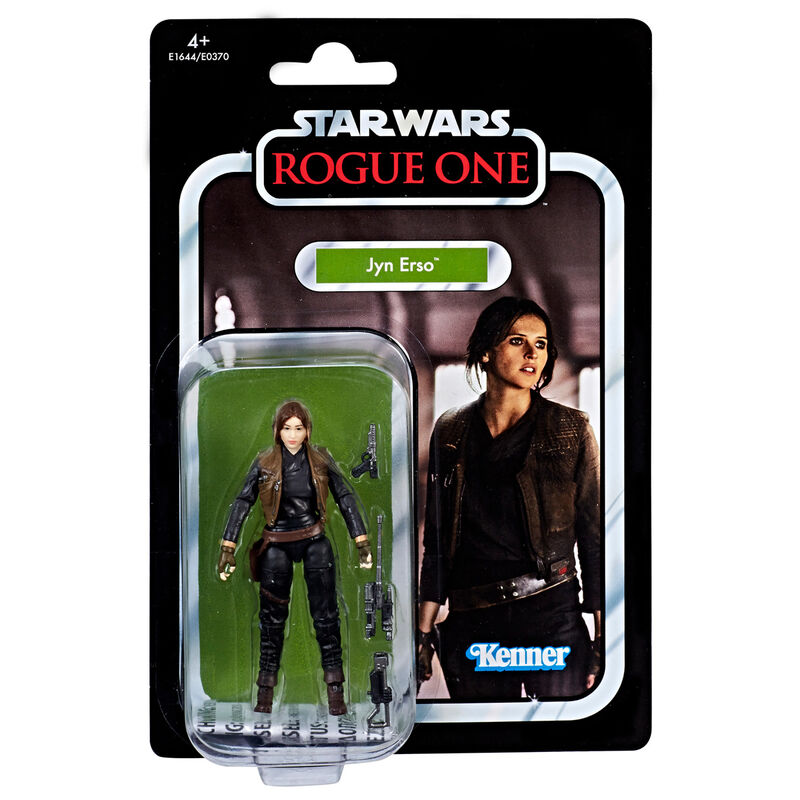Photo du produit Figurine Hasbro Kenner Jyn Erso Star Wars Rogue One 9,5cm