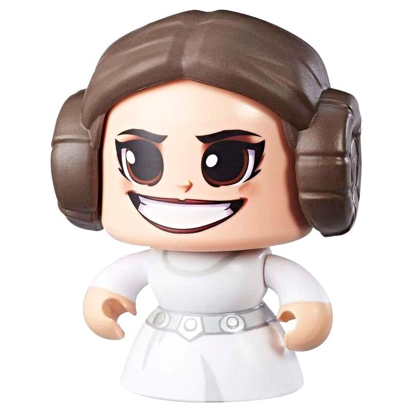 Photo du produit Figurine Hasbro Mighty Muggs Leia Star Wars 14cm
