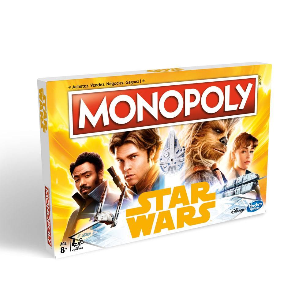 Photo du produit MONOPOLY SOLO A STAR WARS STORY [VERSION FRANCAISE]