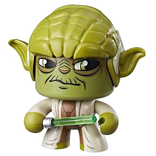Photo du produit Figurine Hasbro Mighty Muggs Yoda Star Wars 14cm