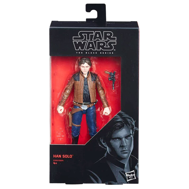 Photo du produit HASBRO FIGURINE HAN SOLO STAR WARS HAN SOLO 15CM