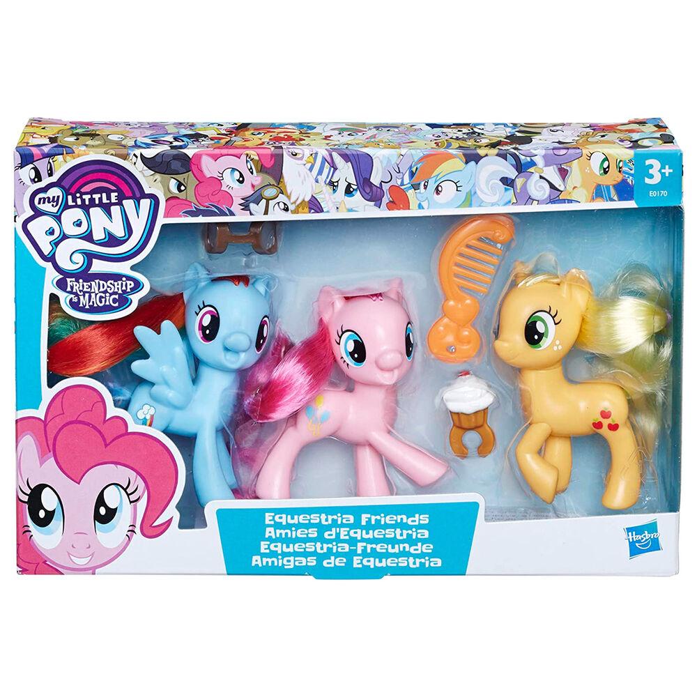 Photo du produit Pack 3 figurines Hasbro Amies Equestria - My little pony