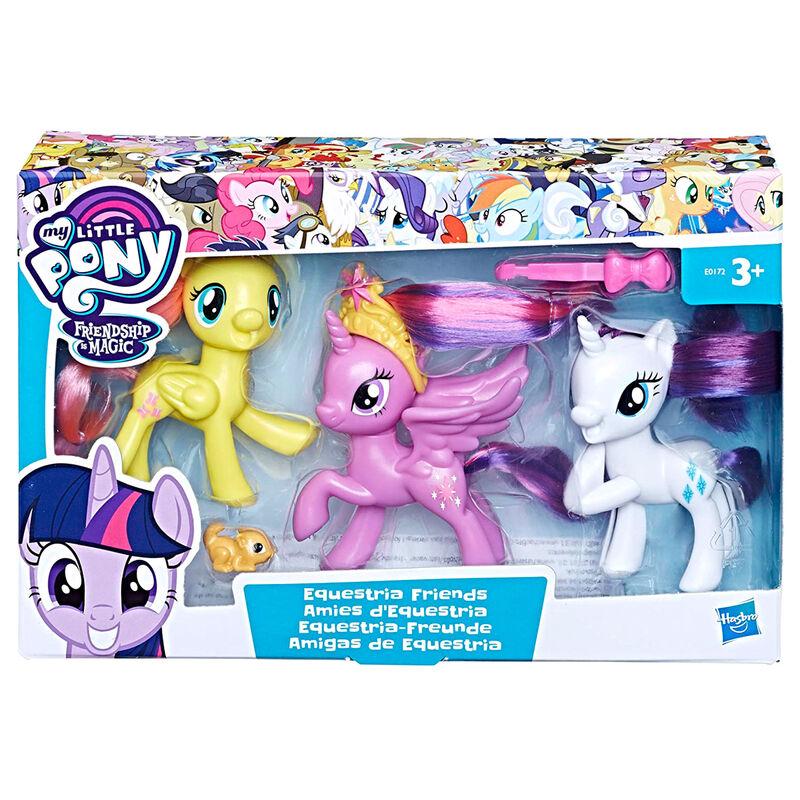 Photo du produit Pack 3 figurines Hasbro Amies Equestria - My little pony Pack B