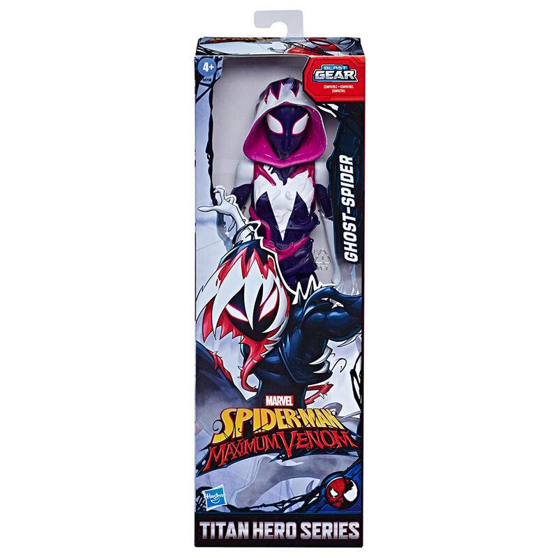 Photo du produit FIGURINE HASBRO TITAN HERO GHOST-SPIDER MAXIMUM VENOM SPIDERMAN 30CM