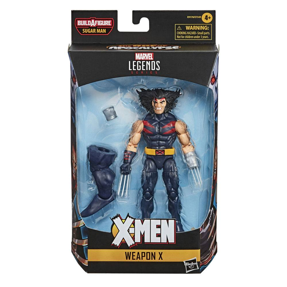 Photo du produit X-MEN AGE OF APOCALYPSE MARVEL LEGENDS SERIES FIGURINE 2020 WEAPON X 15 CM