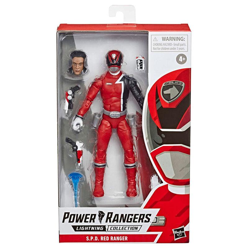 Photo du produit FIGURINE HASBRO RED RANGER POWER RANGERS 15CM