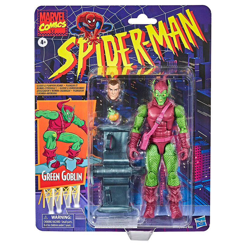 Photo du produit FIGURINE HASBRO MARVEL MYSTERIO SPIDERMAN 15CM