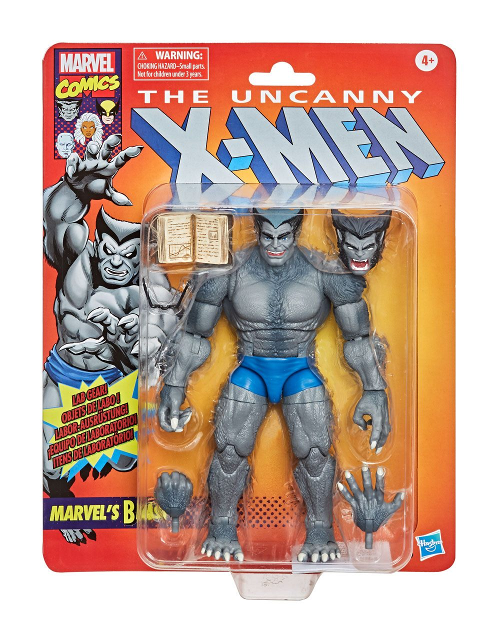 Photo du produit MARVEL LEGENDS SERIES VINTAGE COLLECTION FIGURINE MARVEL'S BEAST (THE UNCANNY X-MEN)