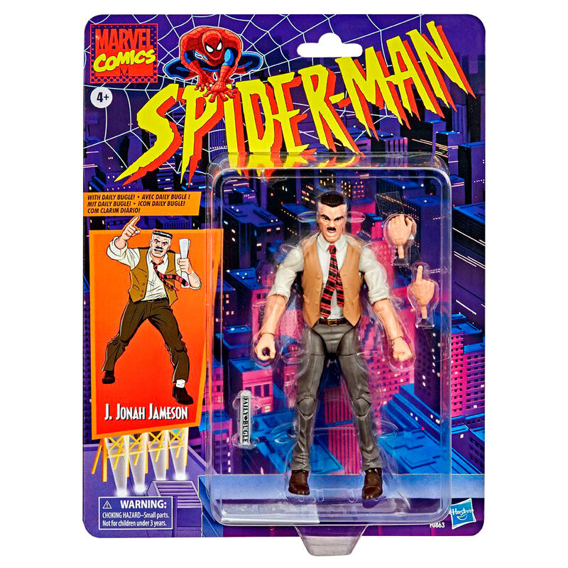 Photo du produit Figurine J. Jonah Jameson Spiderman Marvel Retro Collection 15cm