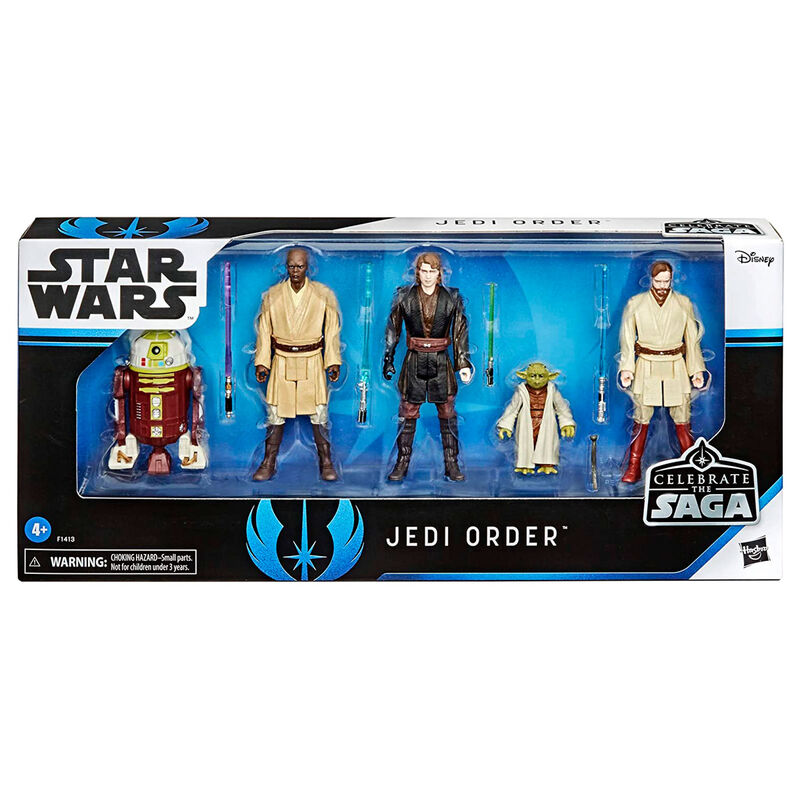 Photo du produit COFFRET 5 FIGURINES JEDI ORDER STAR WARS CELEBRATE THE SAGA