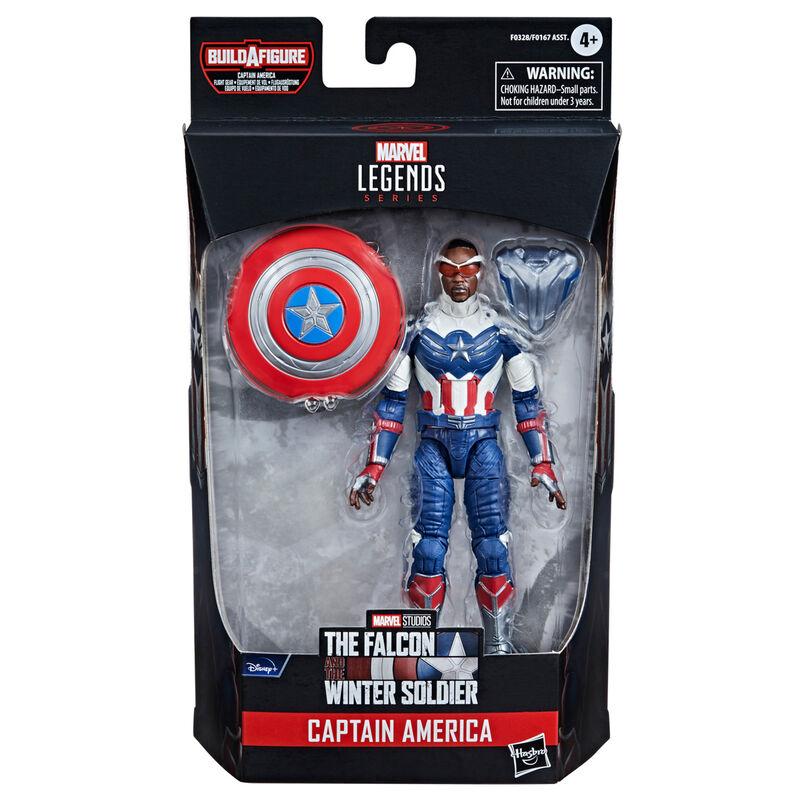 Photo du produit Figurine Captain America - Falcon et le soldat d'hiver Hasbro