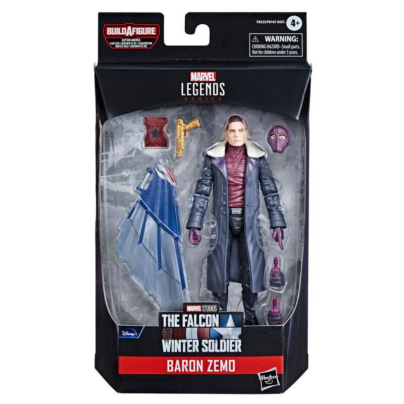 Photo du produit Figurine Baron Zemo - Falcon et le soldat d'hiver Hasbro