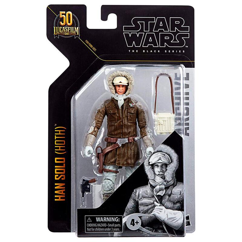 Photo du produit Figurine Hasbro Star Wars Han Solo Hoth figure 15cm
