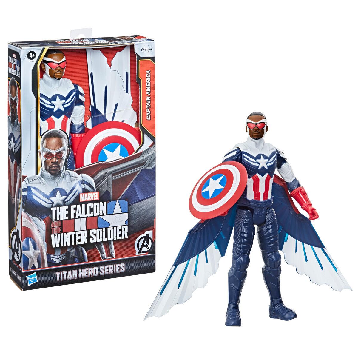 Photo du produit Marvel Falcon and the Winter Soldier Captain America titan figure 30cm