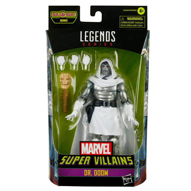 Photo du produit Figurine Dr. Doom Marvel Legends 15cm