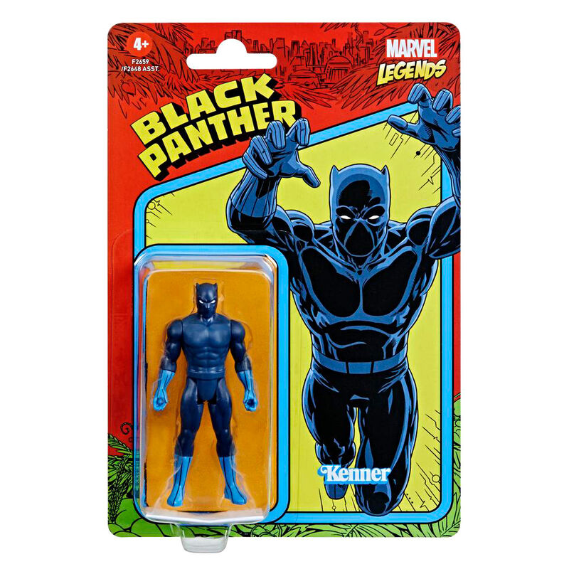 Photo du produit Figurine Hasbro Kenner Black Panther Marvel 9,5cm