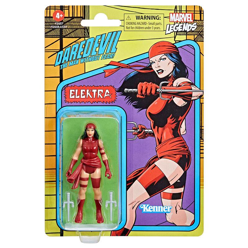 Photo du produit Figurine Hasbro Kenner Elektra Daredevil Marvel 9,5cm