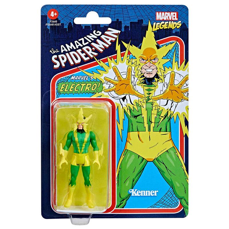 Photo du produit Figurine Hasbro Kenner Electro The Amazing Spiderman Marvel 9,5cm
