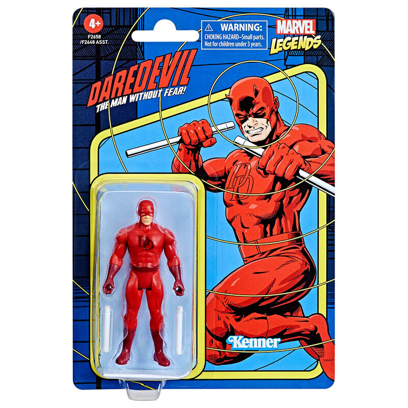 Photo du produit Figurine Hasbro Kenner Daredevil Marvel 9,5cm