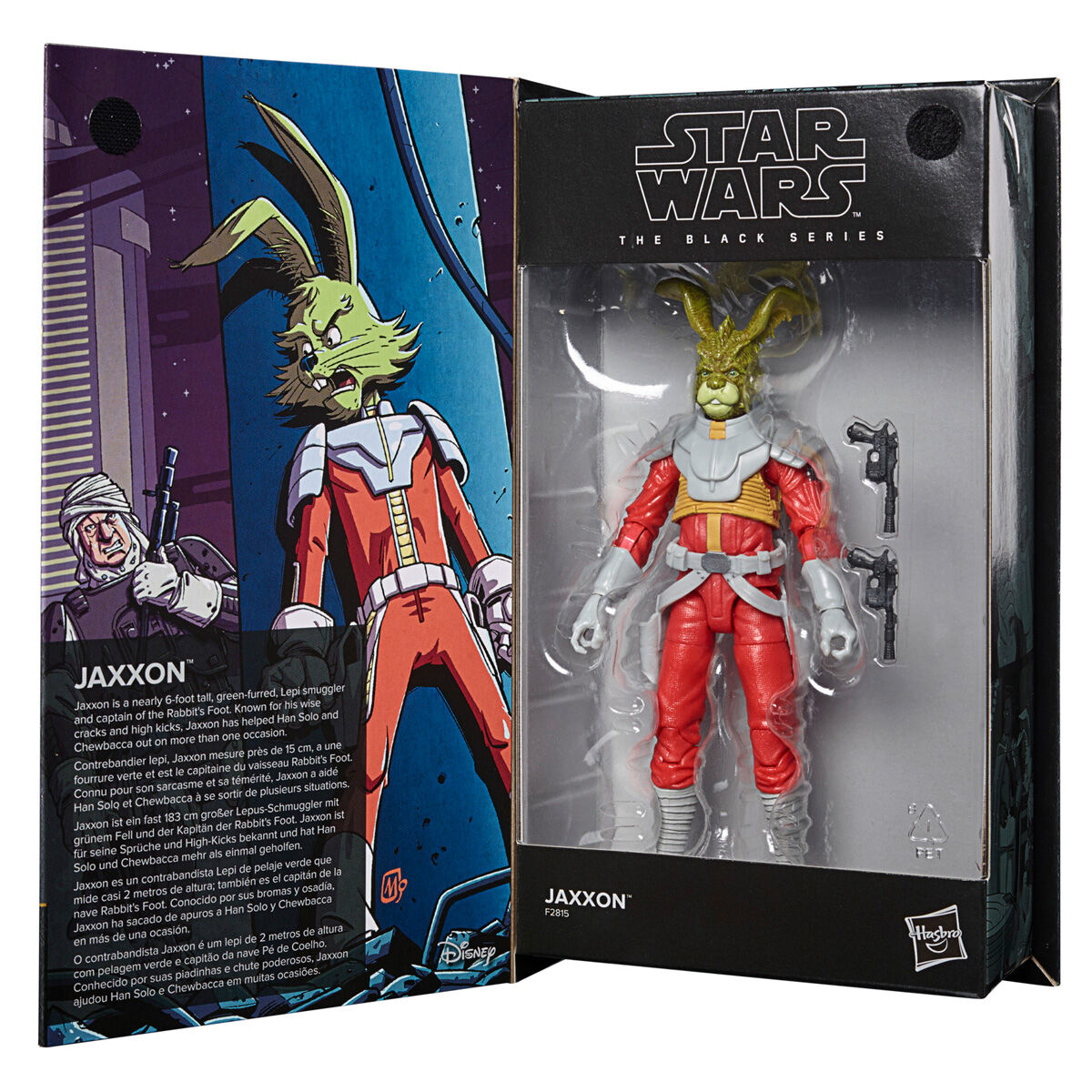 Photo du produit FIGURINE HASBRO JAXXON STAR WARS THE BLACK SERIES 15CM