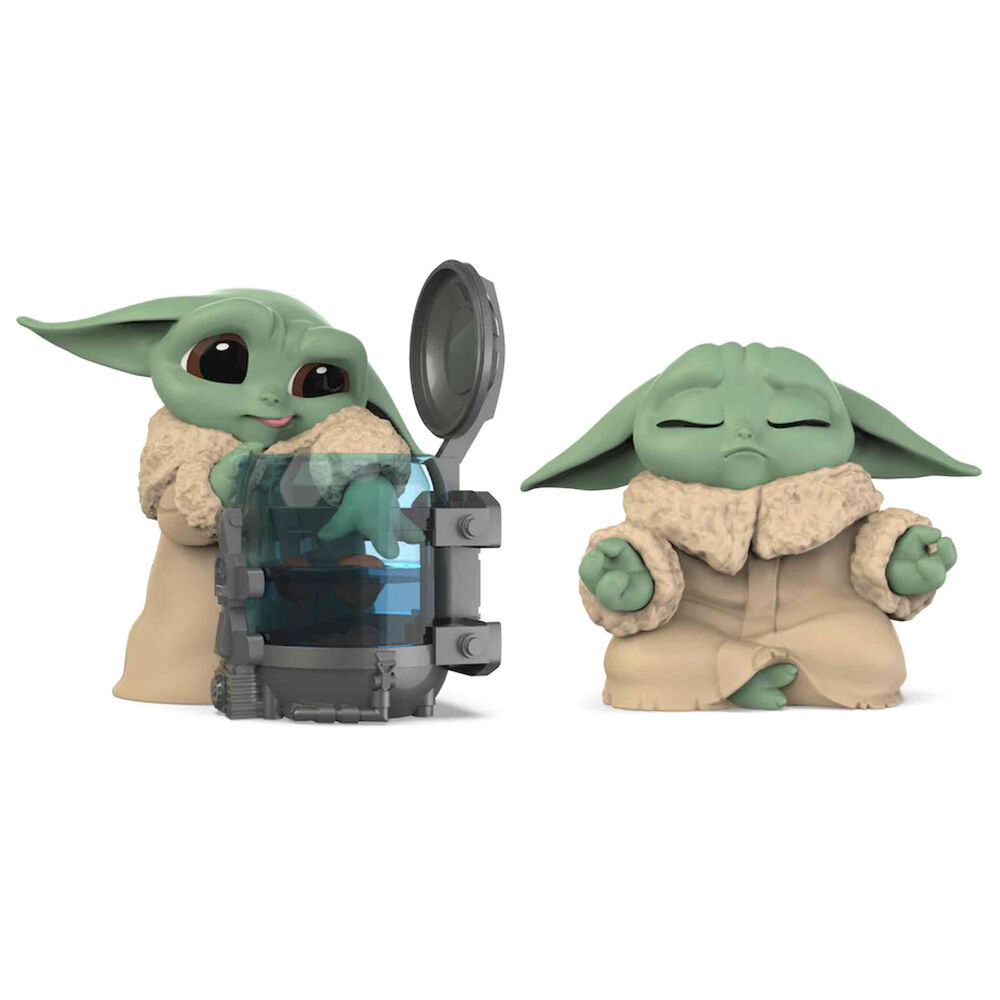 Photo du produit PACK 2 FIGURINES YODA THE CHILD THE MANDALORIAN STAR WARS PACK B