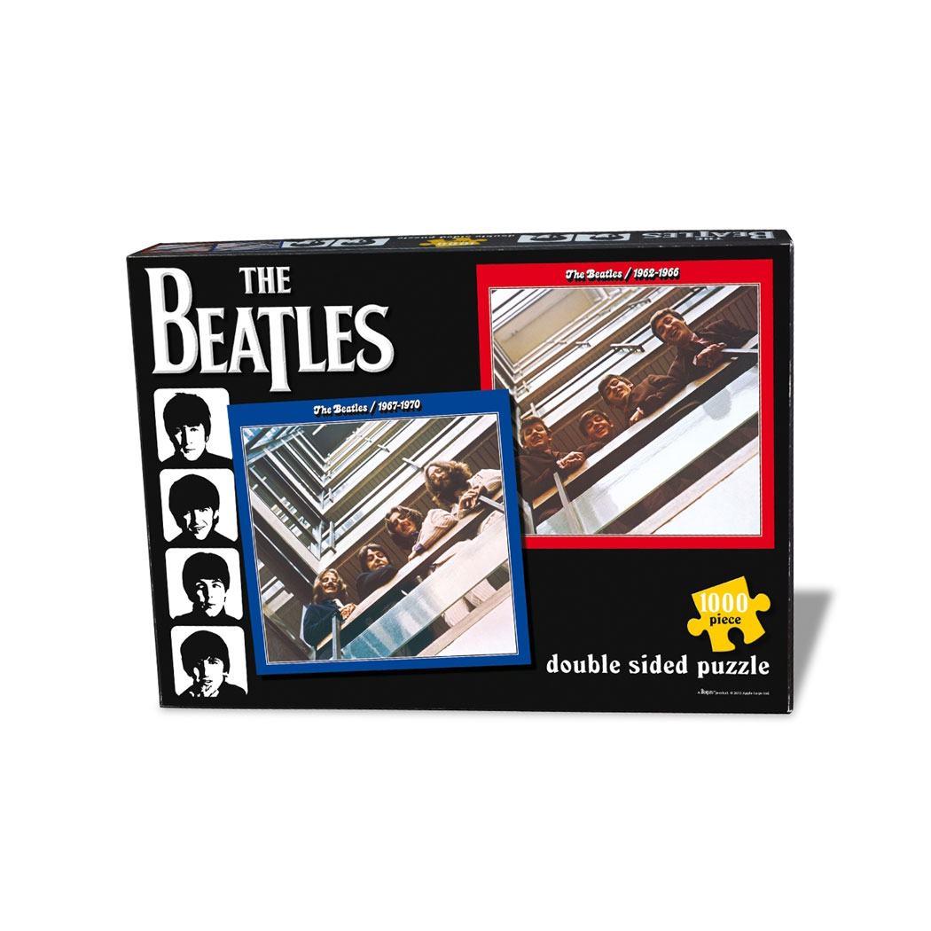 Photo du produit THE BEATLES PUZZLE RED & BLUE DOUBLE