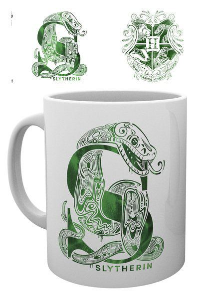 Photo du produit HARRY POTTER MUG SLYTHERIN MONOGRAM